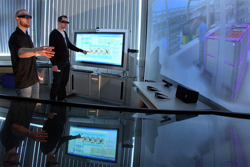 Digitale Planung, Simulation und Visualisierung in 3D und Virtual Reality    © TU Chemnitz, Uwe Meinhold