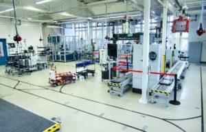 Vernetzte Produktions-, Logistik- und IKT-Systeme im Shopfloor || Foto: © Frank Börner, TU Chemnitz