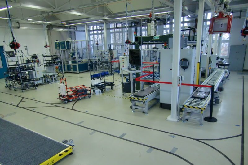 Experimentier- und Digitalfabrik (EDF)    Foto: © TU Chemnitz