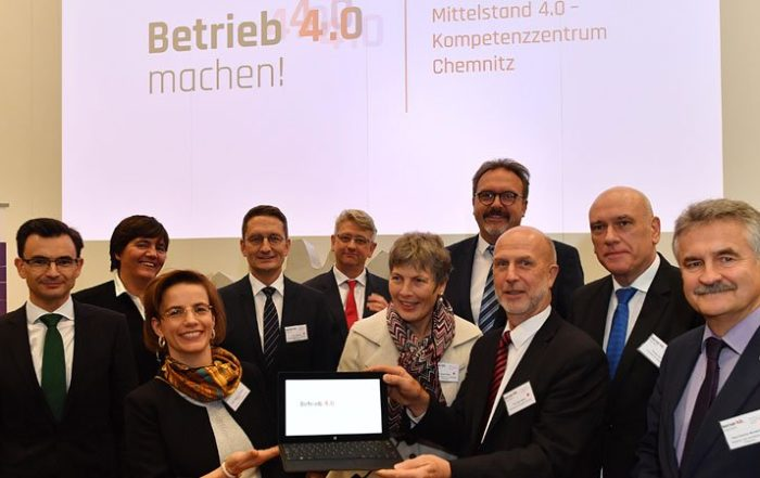 Kick-Off Kompetenzzentrum Mittelstand 4.0 || © Wolfgang Schmidt