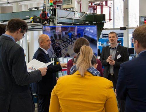 Pressemitteilung der TU Chemnitz zu einem Jahr Kompetenzzentrum in Chemnitz