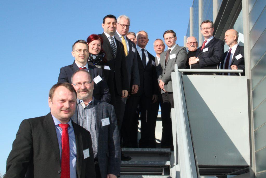 Das Begleitgremium des Mittelstand 4.0-Kompetenzzentrum Chemnitz tagt das erste Mal. || © TU Chemnitz: Romy Kertzsch