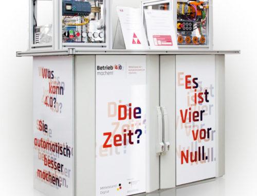 Pressemitteilung: Das Mittelstand 4.0-Kompetenzzentrum Chemnitz auf der Hannover Messe Industrie