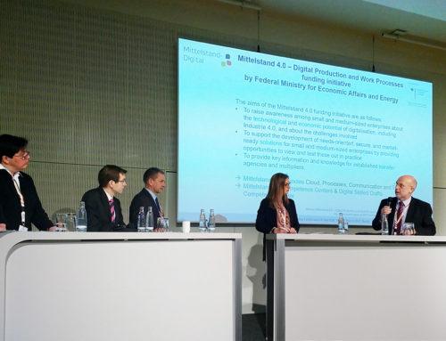 Pressemeldung der TU Chemnitz zur G20-Konferenz zur Digitalisierung der Produktion in Berlin