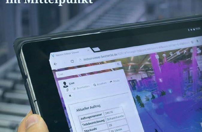 Screenshot des Leipziger IHK Magazins