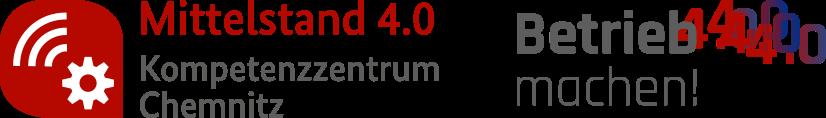 Mittelstand 4.0-Kompetenzzentrum Chemnitz Retina Logo