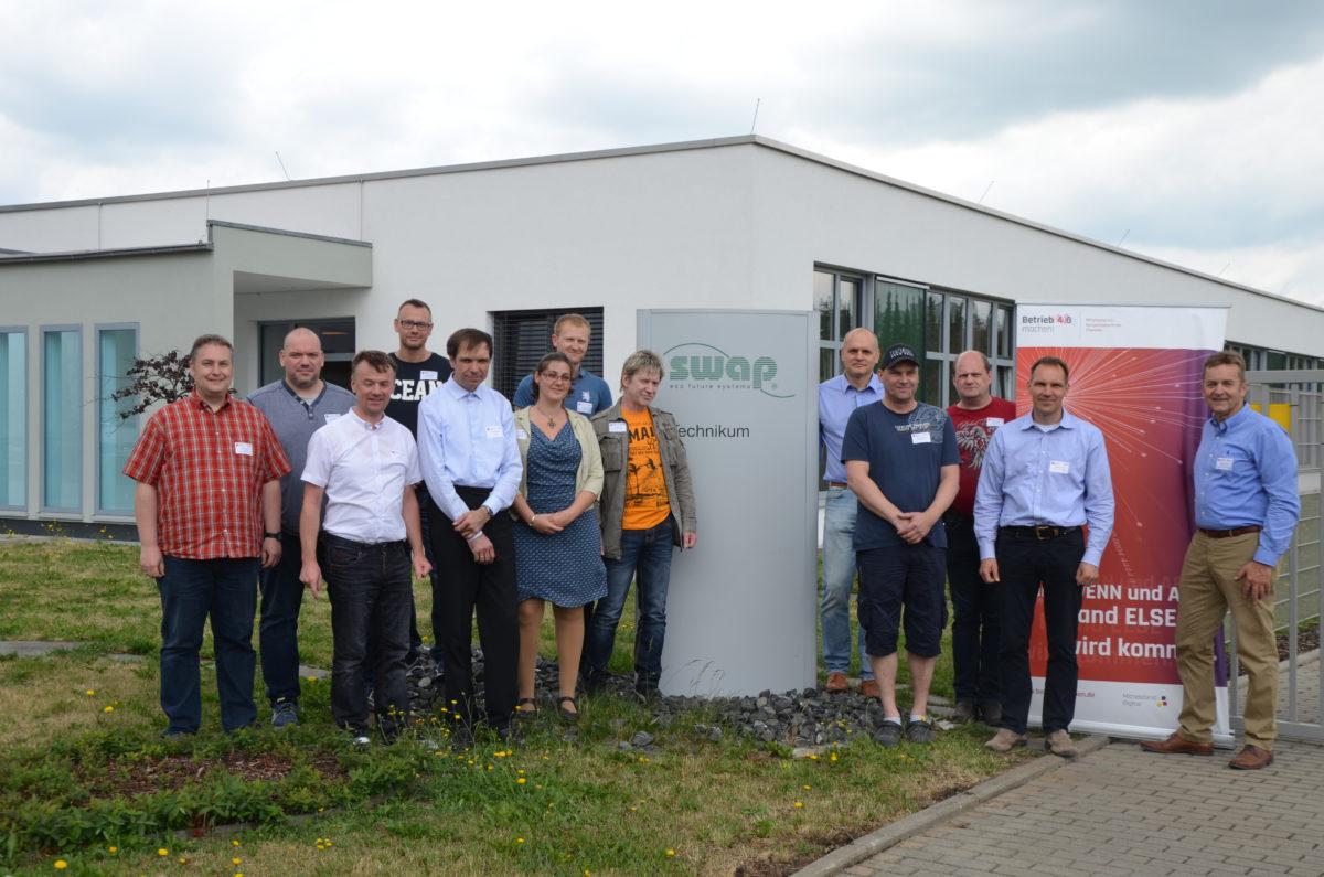 Die Teilnehmer der In-Situ Weiterbildung || © CATI | Chemnitz Automotive Institute