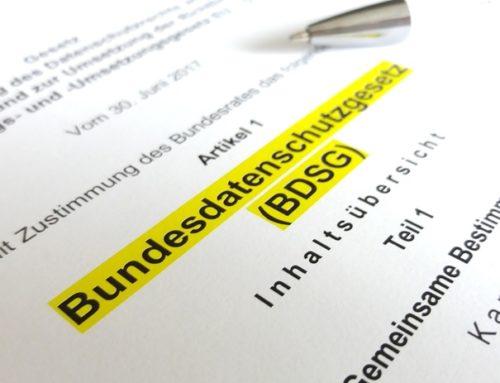 """Mitteilung: Das """"neue"""" Bundesdatenschutzgesetz wurde verkündet"""