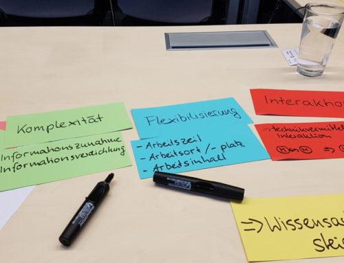 """Treffen der Arbeitsgruppe """"Arbeit 4.0"""" in Paderborn"""