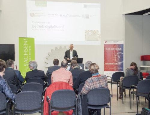 "Thementag ""Betrieb digitalisiert! – von KMU für KMU, regional-rational-digital"" – Rückblick 06.12.2017"