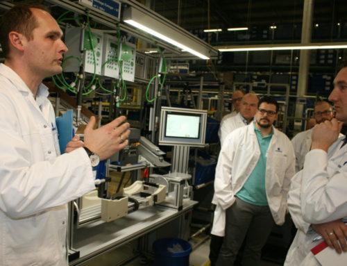 Autoland Sachsen zum Thementag bei Grammer System GmbH in Zwickau