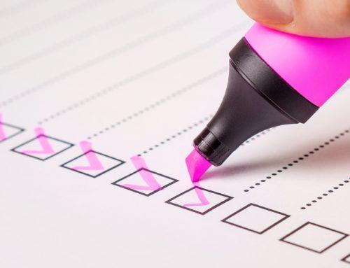 Datenschutzgrundverordnung (DSGVO) – Ihre Checkliste