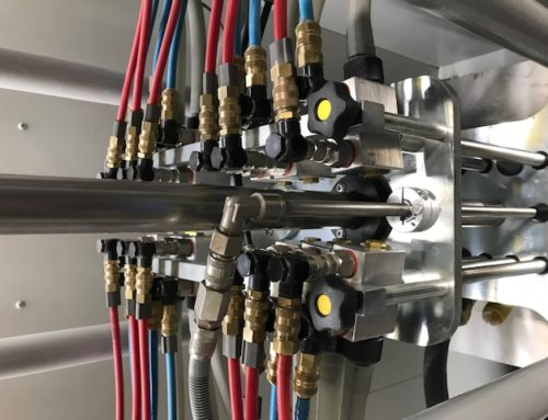 Digitalisierung von Auftragsdurchlauf und Maschinenbelegung in der Elektrostatischen Pulverbeschichtung