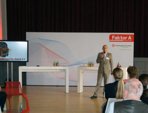 Das Mittelstand 4.0-Kompetenzzentrum auf dem Business Talk der Agentur für Arbeit in Marienberg – Rückblick 30.05.2018