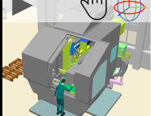 Simulation von Werkzeugmaschinen für Marketing und Vertrieb
