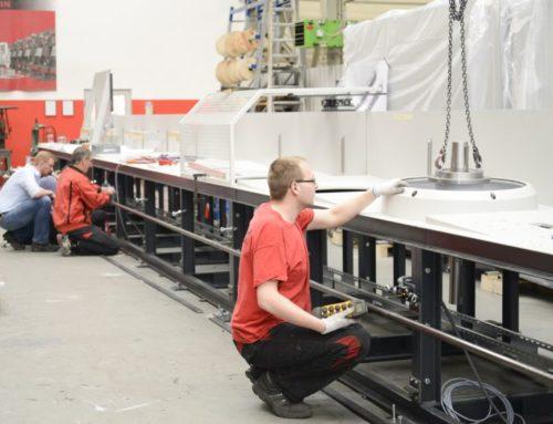 Digitale Auftragsverfolgung im projektbezogenen Beschaffungsprozess für Maschinenbaugruppen