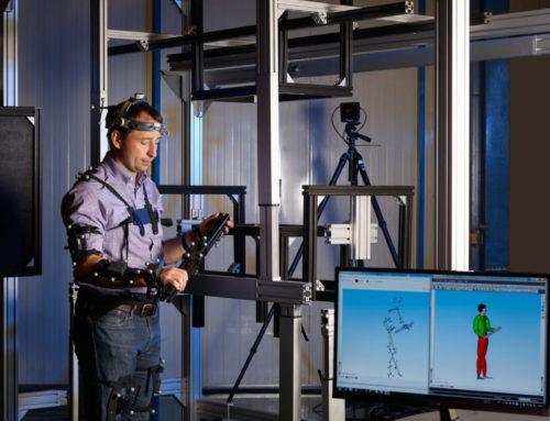 Virtuelle Ergonomie an der Werkzeugmaschine