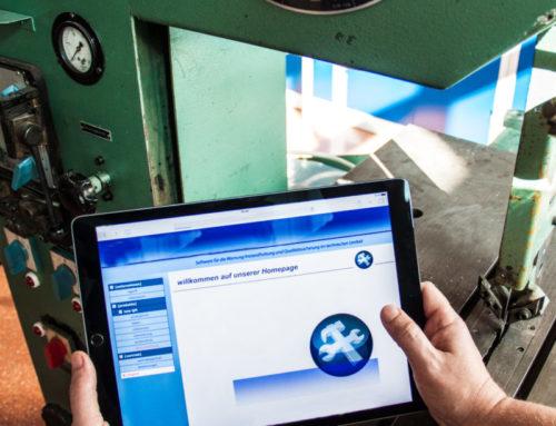 Digitalisierte Instandhaltungsplanung und  Maßnahmenüberwachung