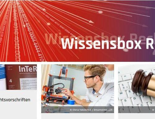 Mittelstand Digital-Newsletter zur Wissensbox Recht 4.0