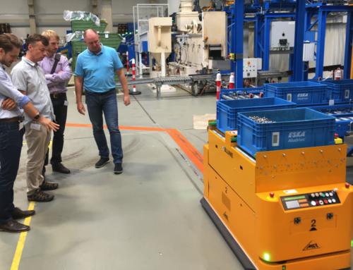 Erfolgreiches Transferprojekt mit dem Unternehmen ESKA Automotive GmbH aus Chemnitz