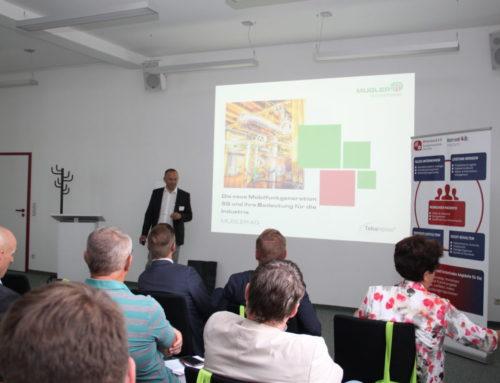 """Unternehmerforum """"Moderne Kommunikationslösung in der Produktion – 5G?!"""" – Rückblick 06.09.2018"""