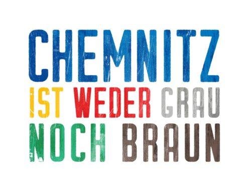 Chemnitz ist weder grau noch braun