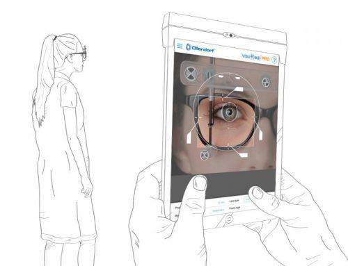 Brillenanpassung mit mobilen Endgeräten