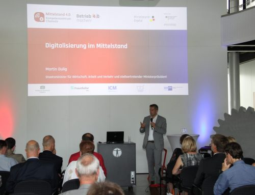 Digitalisierung im sächsischen Mittelstand – Bergfest beim Mittelstand 4.0-Kompetenzzentrum Chemnitz