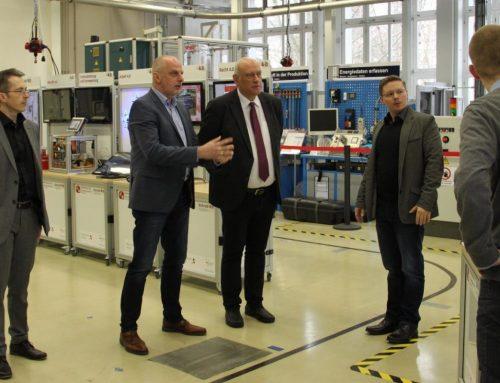 Pressemitteilung: Das Mittelstand 4.0-Kompetenzzentrum Chemnitz begrüßt Mitglieder des Deutschen Bundestages