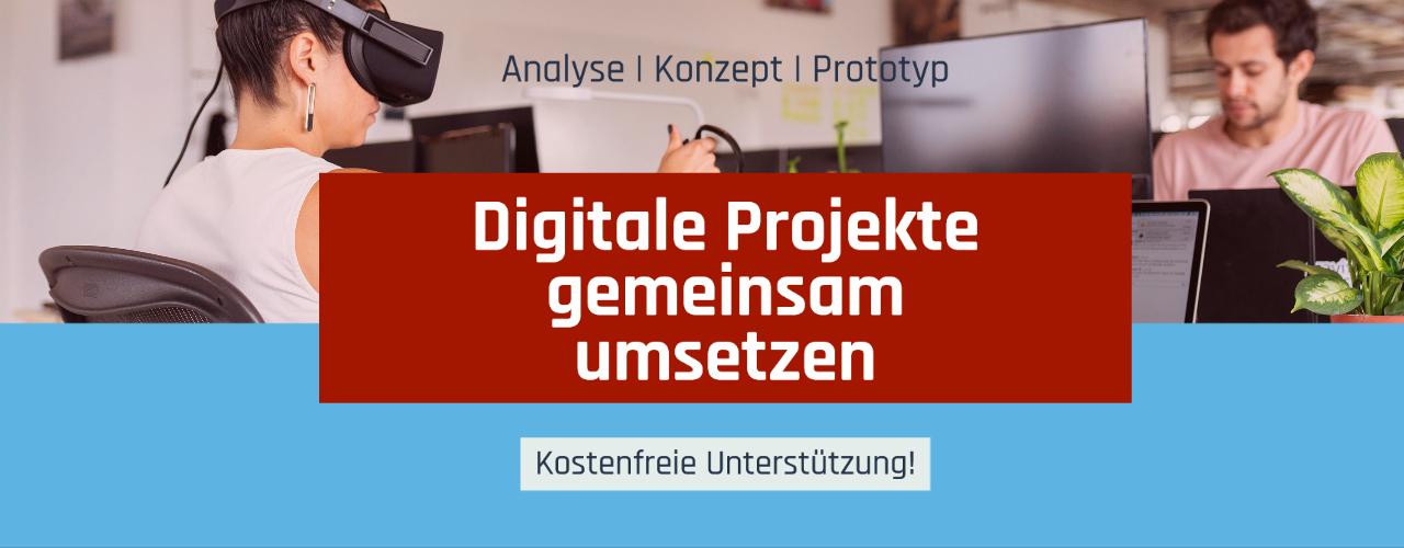 Digitale Projekte im Mittelstand