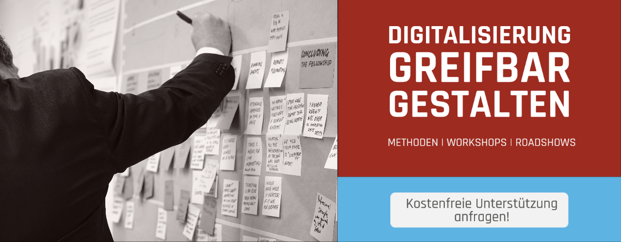 Digitalisierung Mittelstand: Methoden, Workshops, Roadshows