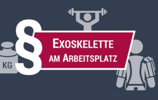 Exoskelette am Arbeitsplatz