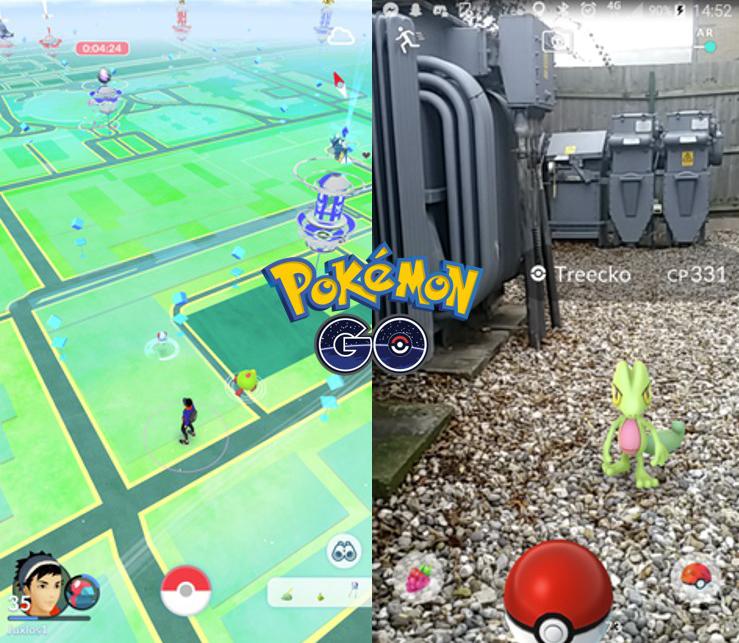 Screenshot Pokémon Go App    © Nintendo