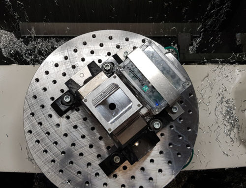 5G-Datenübertragung für Fräsprozesse