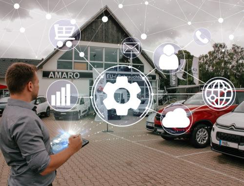Autohaus erhält Digitalen Zwilling