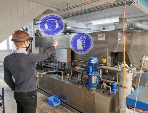 """Kick-Off zum Umsetzungsprojekt """"Modulare AR-Applikation zur Anlageninstandhaltung"""""""