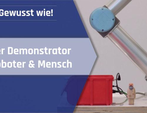 Mensch-Roboter-Kollaboration: Demonstrator Roboter & Mensch