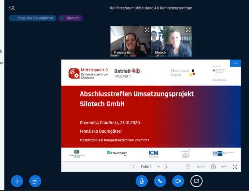 Abschluss Umsetzungsprojekt mit Silotech GmbH