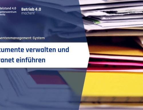 Dokumente verwalten und Intranet einführen