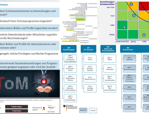 Auswertung der Analysen und Auswahl geeigneter Maßnahmen zur Steigerung der IT-Sicherheit