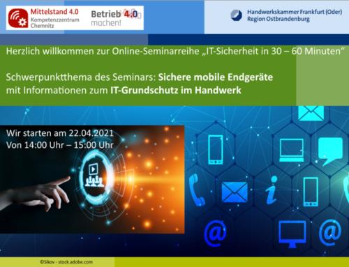 Online-IT-Sicherheitssprechstunde
