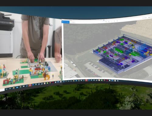 Mit LSP und VR zur Arbeitsbereichsgestaltung