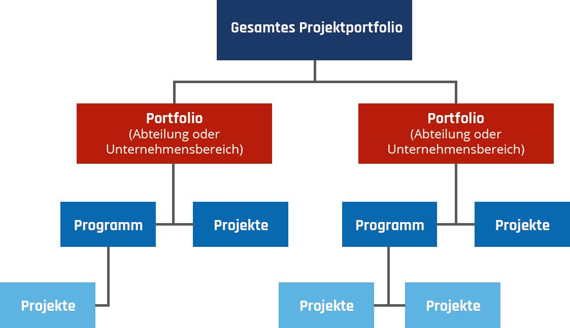 Abbildung 1: schematisches Projektportfolio    nach Martin Moehrle