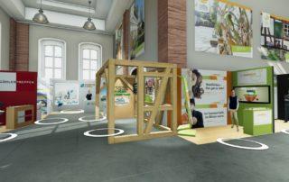 Virtuelle Hausmesse Branchenmesse || © VRENDEX GmbH