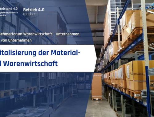 Digitalisierung der Material- und Warenwirtschaft in einem mittelständischen Fertigungsbetrieb