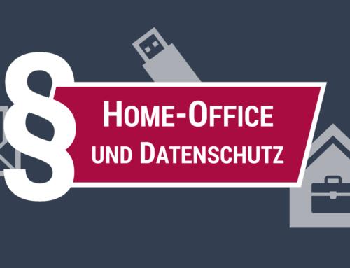 Home Office und Datenschutz (Video)