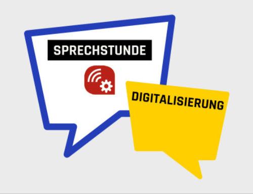 Sprechstunde Digitalisierung: individuelle Unterstützung