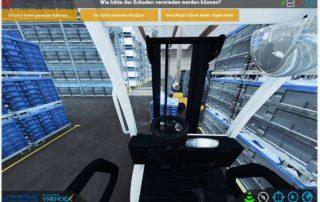 Virtuelle Sicherheitsunterweisung || © VRENDEX GmbH