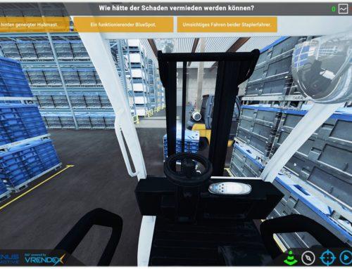 Virtuelle Sicherheitsunterweisung in 3D