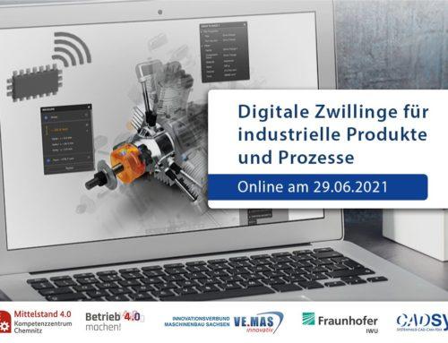Digitale Zwillinge für industrielle Produkte und Prozesse